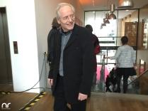Lindenstraßen-Oldie Joachim Luger lässt sich den Empfang natürlich auch nicht entgehen! Seit der ersten Folge spielt er in der Serie, das sind bereits 28 Jahre - Hut ab.
