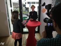 Netzreporterin Barbara im Interview mit Wolke Hegenbarth. So jung und schon so erfolgreich. Wolke verriet uns: Im Oktober feiert sie bereits das 20-Jährige ihrer Filmkarriere.