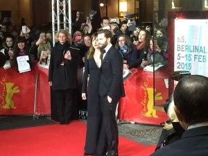 Jamie Dornan und Dakota Johnson auf dem roten Teppich