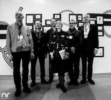 Vertreter der hessischen Film- und Medienakademie beim Empfang der Filmhochschulen in Berlin