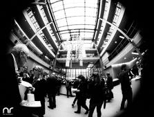 Impressionen des Empfangs der Filmhochschulen in der Landesvertretung Nordrhein-Westphalen