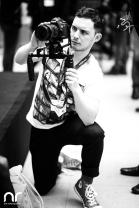 Netzreporter Sergej Tkatschenko in Action