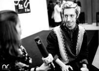 Max Mauff im Interview mit Netzreporterin Sandra Müller