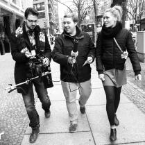 Netzreporter Alexander Bachmann und Thomas Niederhaus im Interview mit Isabel Berghout