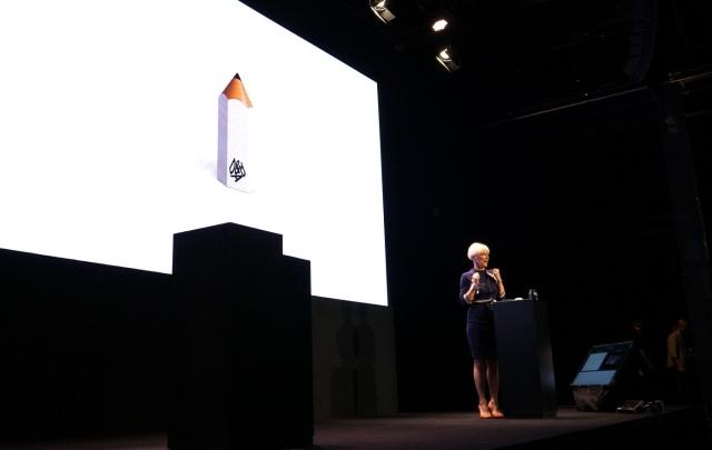 Rosie Arnold auf dem ADC Festival 2019