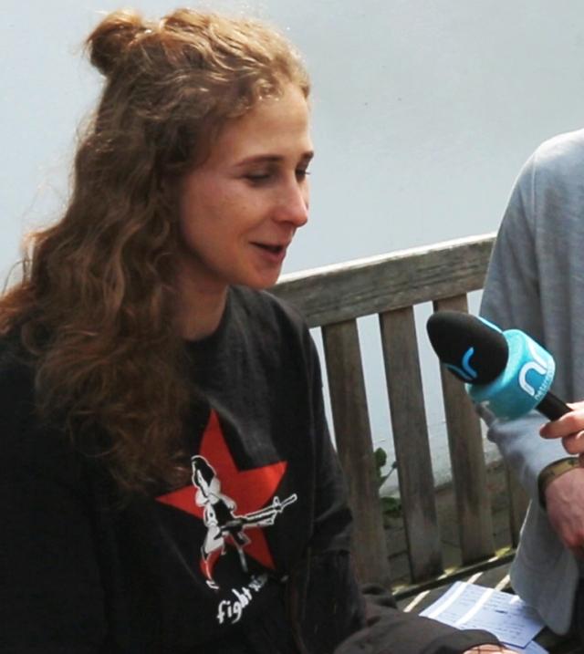 Pussy Riot Activist Maria Alyokhina at ADC Festival, May 2019
