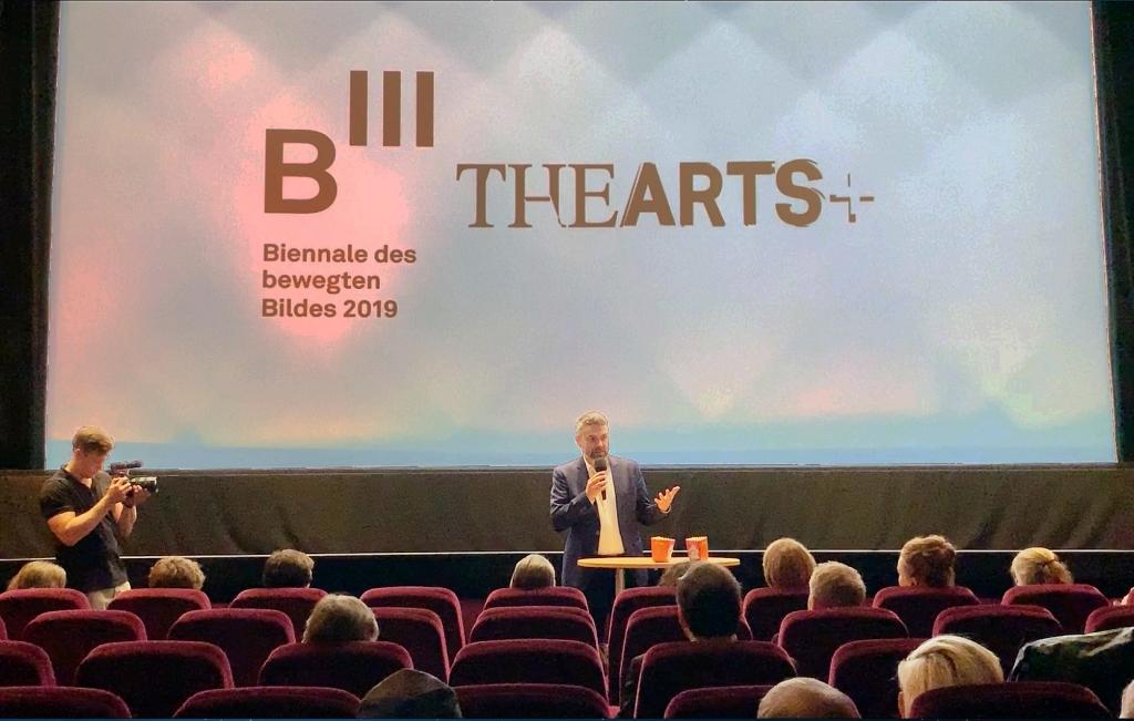 Holger Volland, Vizepräsident der Frankfurter Buchmesse 2019 über die Kooperation von B3 und THE ARTS+